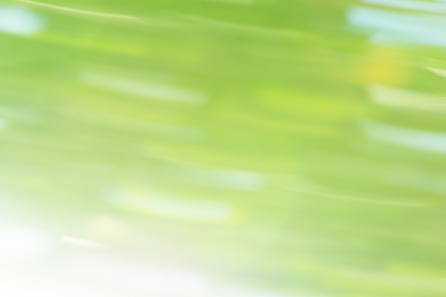 Movimento abstrato bokeh verde. fundo de bokeh em movimento abstrato. Foto Premium