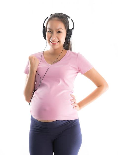 Mulher grávida Foto gratuita