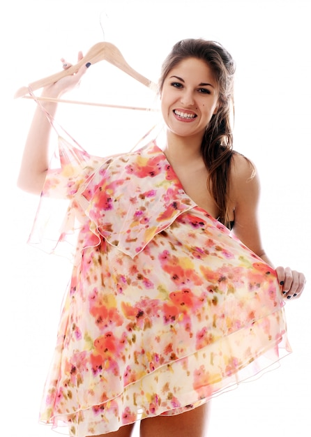 Mulher sexy vestindo Foto gratuita