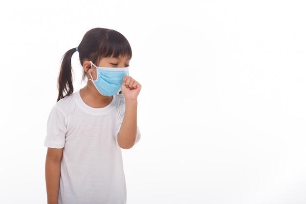 Mulheres da ásia usando máscara para prevenir o vírus Foto Premium