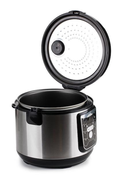 Multi fogão elétrico isolado no branco Foto Premium