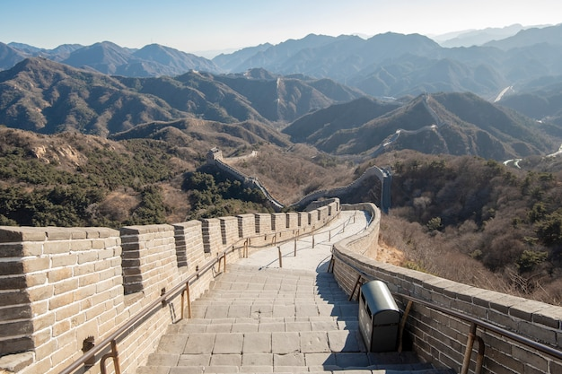 Muralha da china Foto Premium