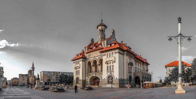 Museu de arqueologia em constanta, romênia Foto Premium