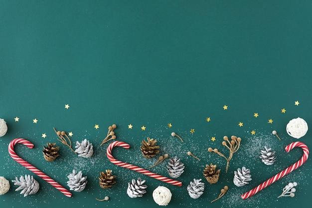 Natal, inverno e ano novo conceito com espaço de cópia Foto Premium