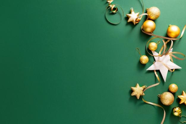 Natal minimalista plano fundo Foto Premium