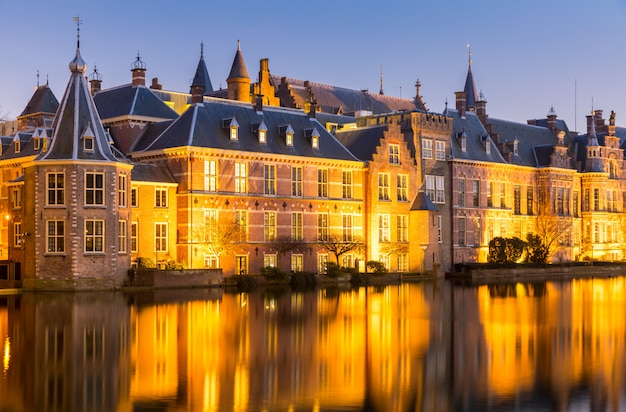 Natherlands parliament hague Foto Premium