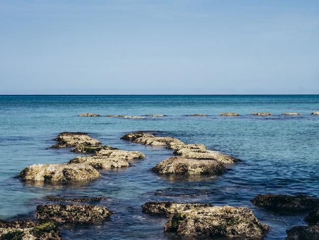 Nature landscape tropical background projeto de viagens de férias Foto Premium