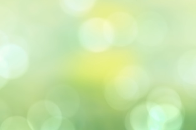 Natureza verde luz de fundo, bokeh verde bonito abstrato Foto Premium