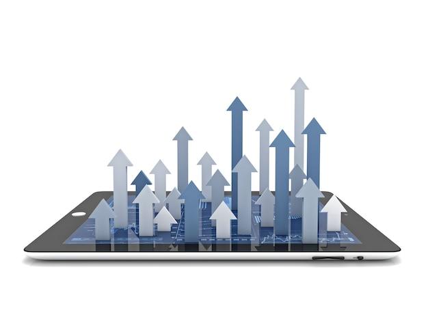 Negócio em crescimento Foto Premium