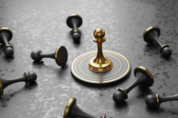 Negócio estratégico, superando o conceito dos concorrentes Foto Premium