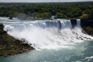 Niagara falls niagarariver Foto gratuita