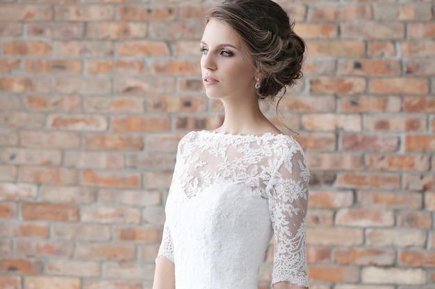 Noiva vestido de noiva Foto gratuita