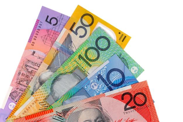 Notas de dólar australiano | Foto Grátis