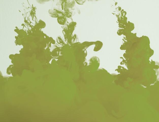 Nuvem cáqui verde abstrata de neblina Foto gratuita