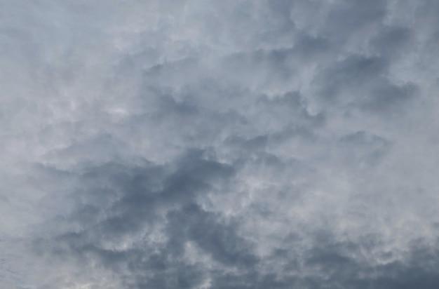 Nuvem negra antes da chuva à noite, plano de fundo texturizado Foto Premium