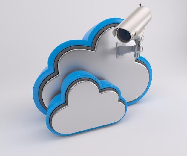 Nuvem observava Foto gratuita