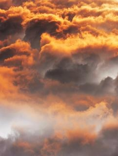 nuvens de ar Foto gratuita