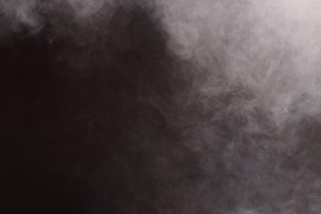 Nuvens de fumaça abstrata, todo o movimento turva fundo, intenção fora de foco Foto Premium