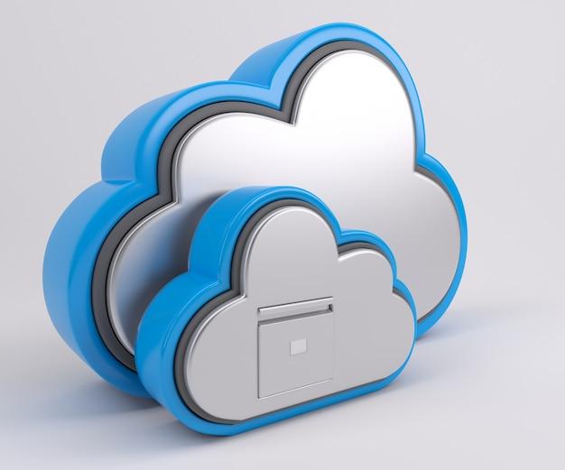 Nuvens sociais Foto gratuita