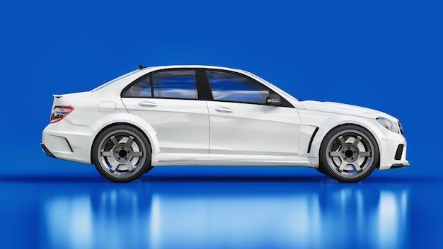O ajuste é uma versão de um carro familiar comum. Foto Premium
