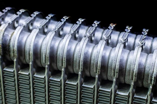O carro de ar condicionado bobinas Foto Premium