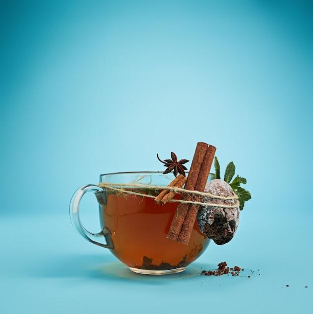 O chá de ervas Foto gratuita