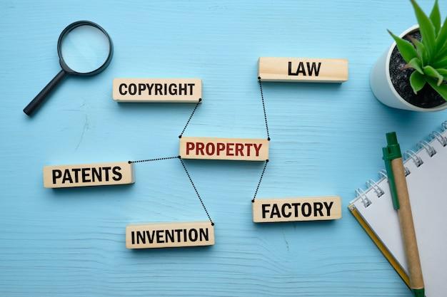 O conceito de propriedade e relacionamentos básicos. Foto Premium