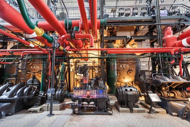 O museu da eletricidade Foto Premium