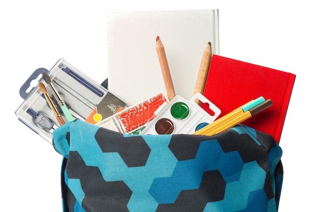 O saco da escola Foto Premium