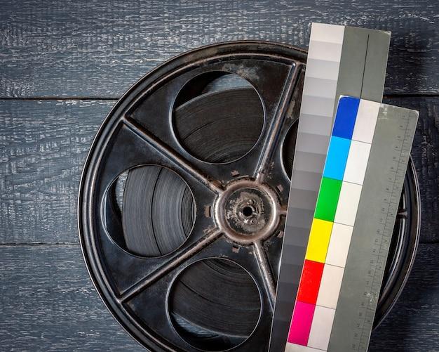 O velho rolo do filme Foto Premium