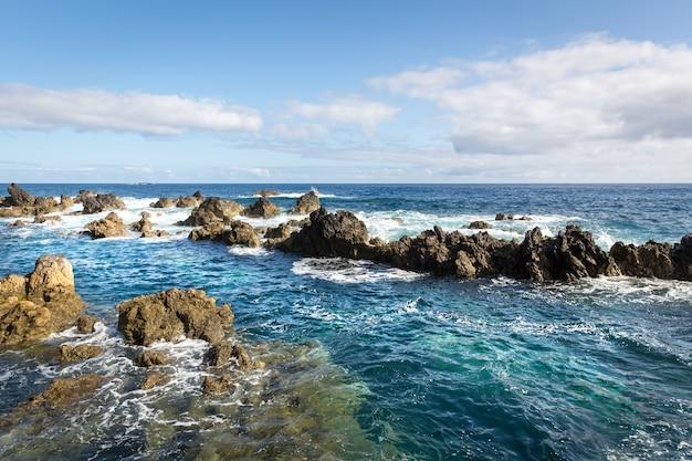 Oceano agitado Foto Premium