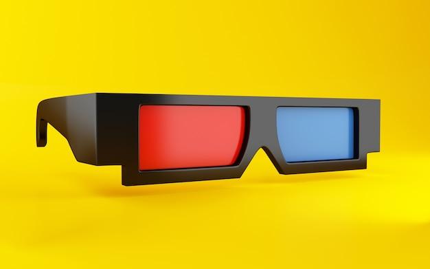 Óculos 3d Foto Premium