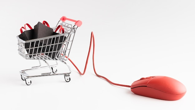 Oferta de vendas da cyber monday Foto Premium