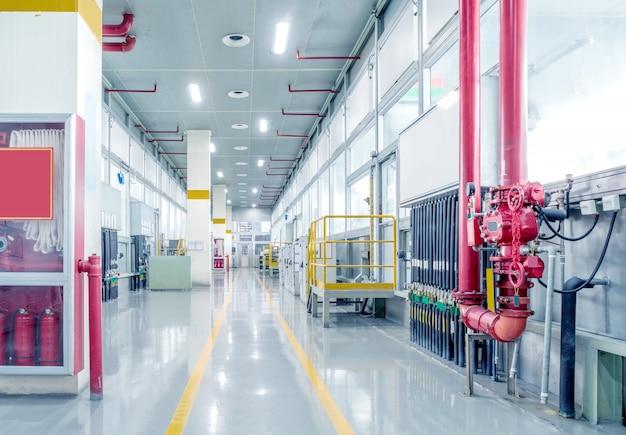 Oficina de produção de fábrica de automóveis Foto Premium