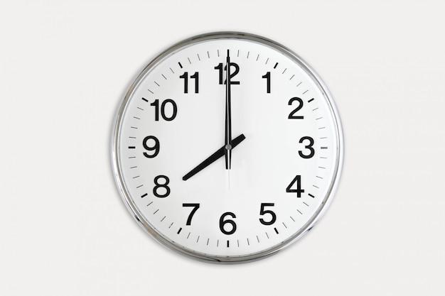 Oito horas Foto Premium