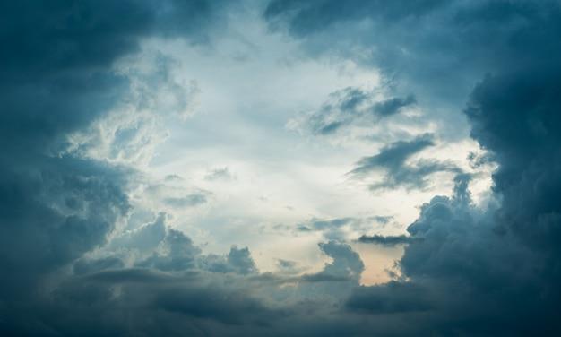 Olho da tempestade Foto Premium