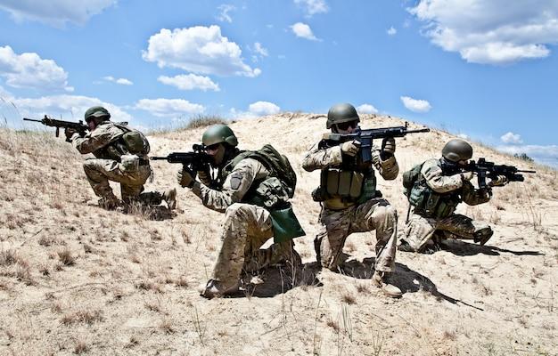 Operação militar Foto Premium