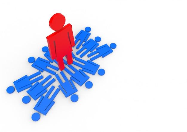 Opinião de perspectiva de uma posição fêmea no sinal masculino do género. conceito de diferença salarial de gênero. Foto Premium