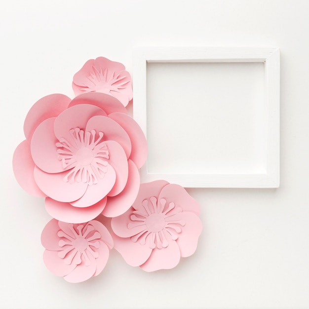 Ornamento elegante plana leigos Foto gratuita