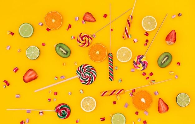 Os doces coloridos Foto gratuita
