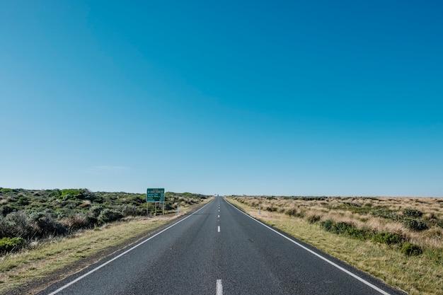 Ótima maneira de estrada do oceano Foto gratuita
