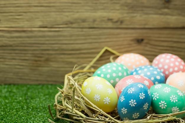 Ovos de páscoa Foto Premium