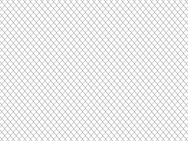 Padrão de cerca de arame. papel de parede estilo industrial Foto Premium