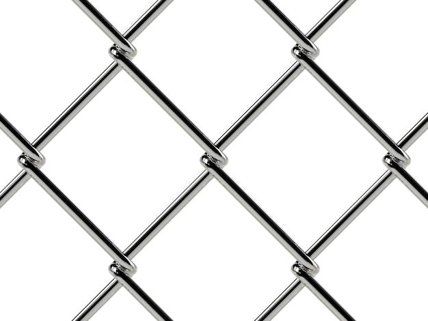 Padrão de cerca de arame. textura geométrica realista Foto Premium