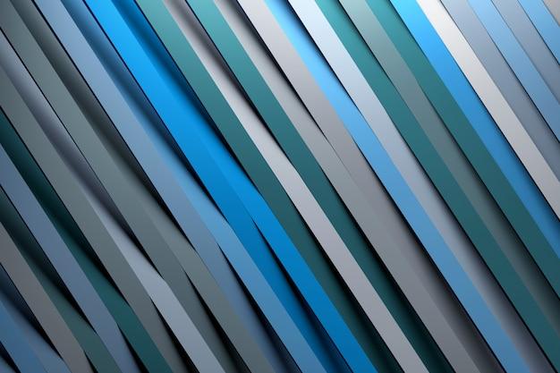 Padrão de efeito de papel diagonal com linhas diagonais Foto Premium