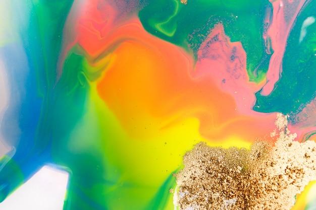 Padrão de gradiente abstrato arco-íris. Foto Premium