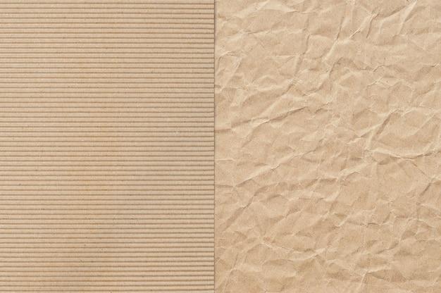 Padrão de papel pardo útil como pano de fundo Foto Premium