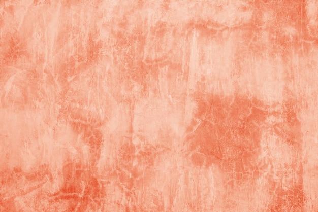 Padrão de superfície de fundo de textura de cimento laranja linda Foto Premium