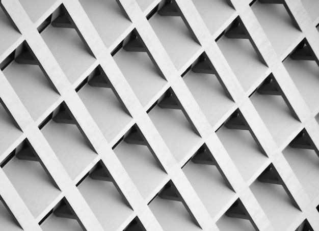Padrão do edifício multi-storey windows e varanda. - monocromático Foto Premium