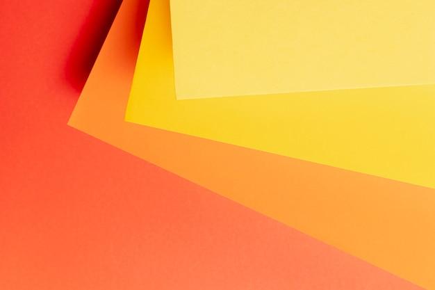 Padrão feito de diferentes tons de cores quentes Foto gratuita